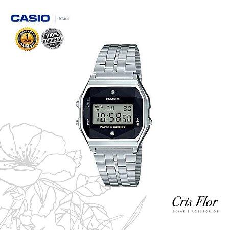 Relógio Casio Diamond Prata A159WAD-1DF