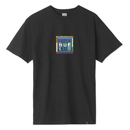 Camiseta HUF Gift Shop preto