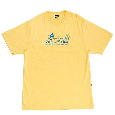 Camiseta HIGH Company Garden amarelo