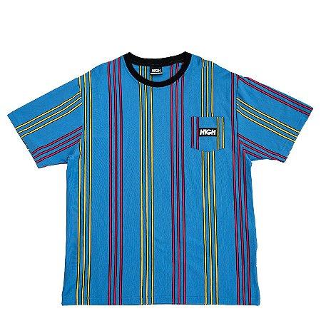 Camiseta HIGH Company Pocket vertical Kidz azul
