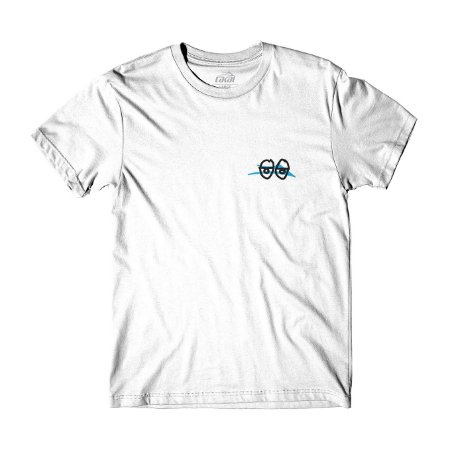 Camiseta Lakai Krooked branco