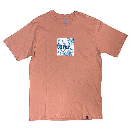 Camiseta HUF Highline Box salmão