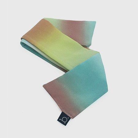 Silk Band Lenço Tie Dye