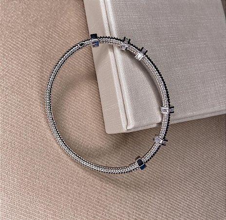 Bracelete Mimme Ecrou Zircônias