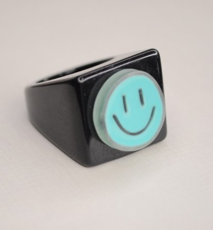 Anel Mimme Cube Smile Verde