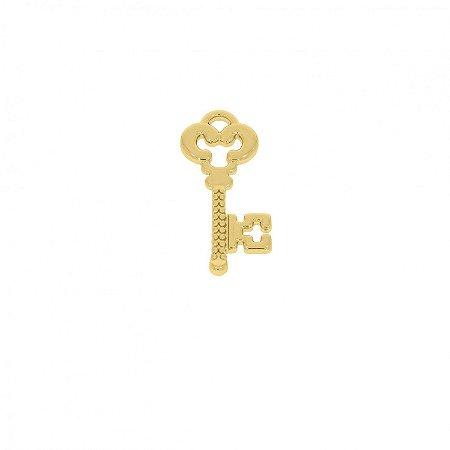 Pin Chave Antiga - Banhado a Ouro
