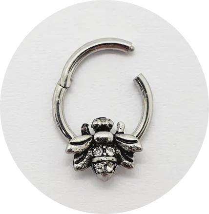 Piercing Articulado Bee - Aço
