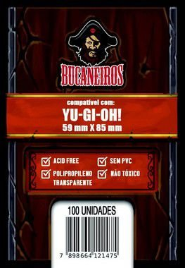 Sleeves Customizados - Yu-Gi-Oh! (59x85 mm)