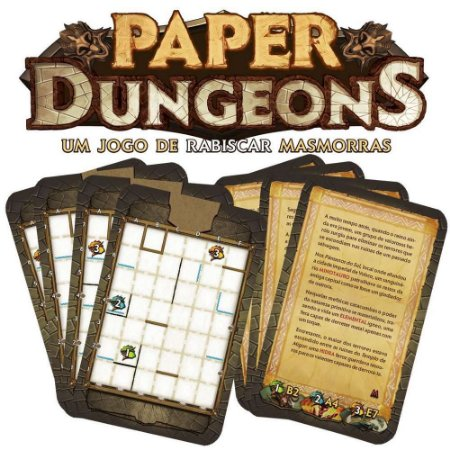 Paper Dungeons: Missões Extras (Expansão)