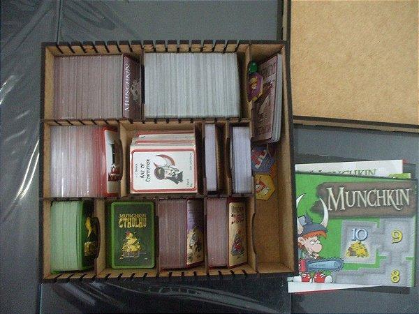Caixa Organizadora para Munchkin