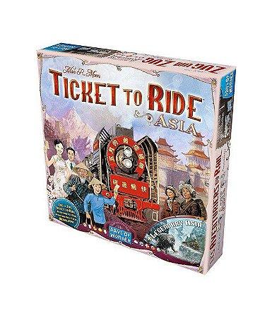 Ticket to Ride - Ásia (Expansão)