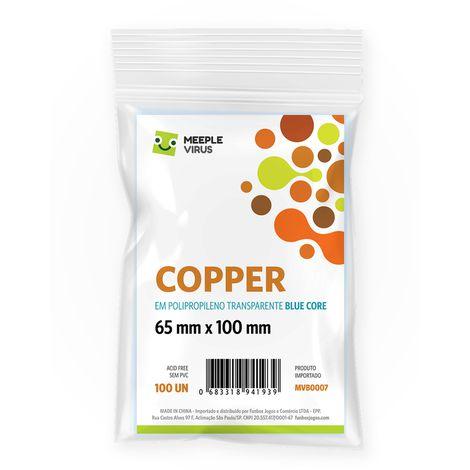 Sleeves Copper 65 x 100 mm (MeepleVirus)