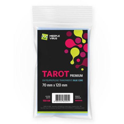 Sleeves Tarot Premium 70 x 120 mm (MeepleVirus)