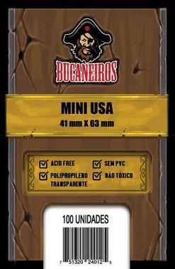 Sleeves Mini Usa 41 x 63 mm (Bucaneiros)