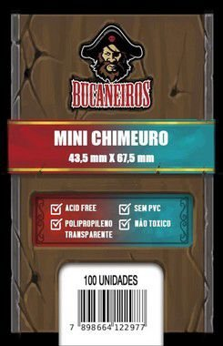 Sleeves Mini-Chimeuro 43,5 x 67,5 mm (Bucaneiros)