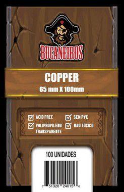 Sleeves Copper 65 x 100 mm (Bucaneiros)