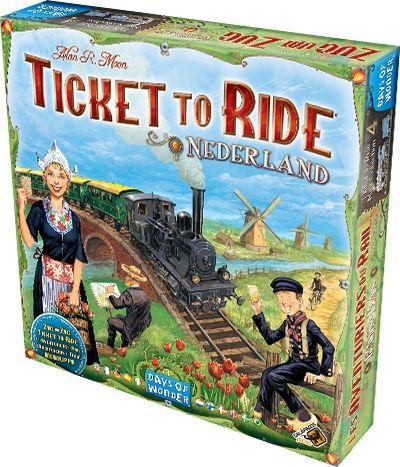 Ticket to Ride Holanda