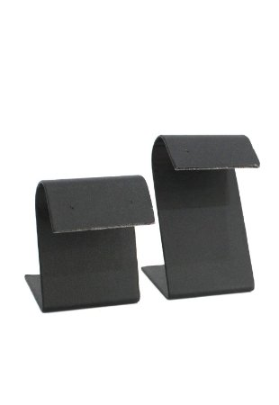 Expositor de brincos napa duplo preto