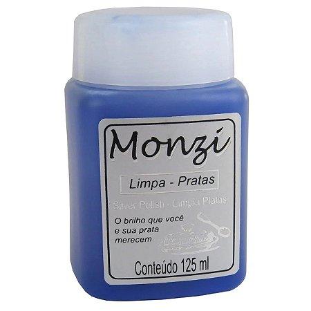 Liquido Monzi Limpa Prata 125 ml.
