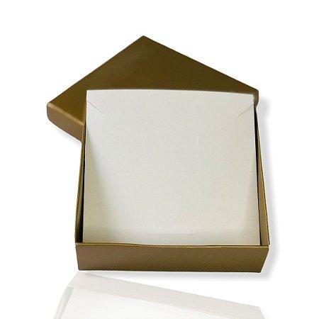 Caixinha Dourada para conjunto - Color 10x10x3