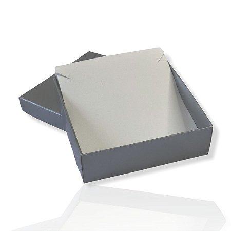 Caixinha Prata para Conjunto - Color 10x10x3