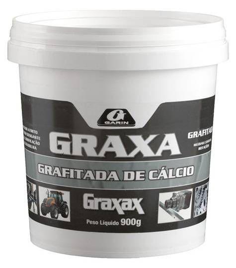 Graxa Grafitada Cálcio 900g Pote Garin