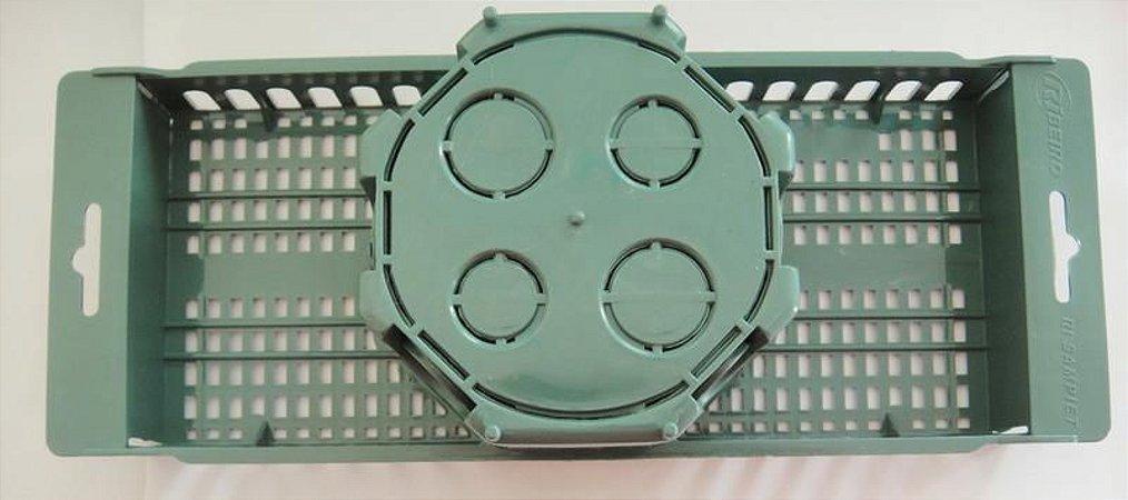 Conjunto Suporte Teto Verde (30cm)