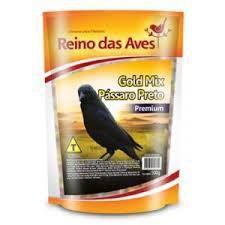Pássaro Preto Gold Mix 500grs