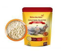 Gold Papa Filhotes Super Premium Refil 400g