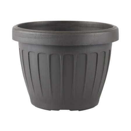 Vaso Plástico Redondo Adri-35 Preto