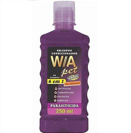 Shampoo Condicionador Parasiticida 6x1 - 250ml Wa Pet