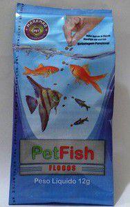 Pet Fish Flocos Cartela com 30 12g