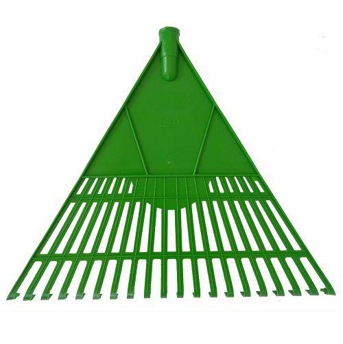 Vassoura Verde para jardim verde c/ cabo Duplas
