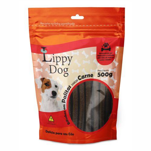 BIFINHO PALITO CARNE 500G (10) LIPPY DOG