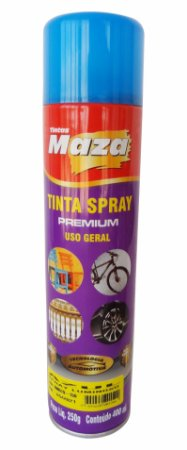 Tinta Spray Luminoso 250g Azul Maza