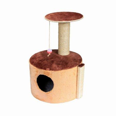 Casa Gato Tubular Color Mundo Pet