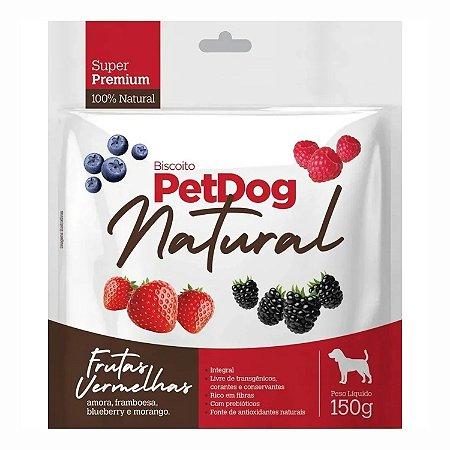 Biscoito Pet Dog Natural Frutas Vermelhas 150g