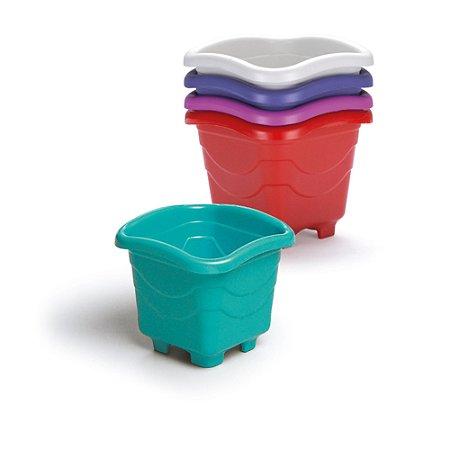 Vaso Quadrado Mini Color (192) Injeplastec