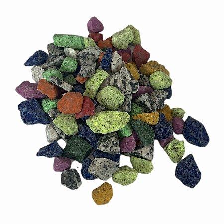Pedra Aquário 800g Multicolor