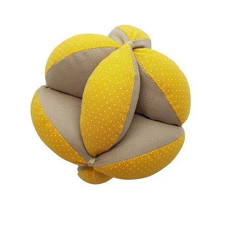 Bola Montessori de tecido