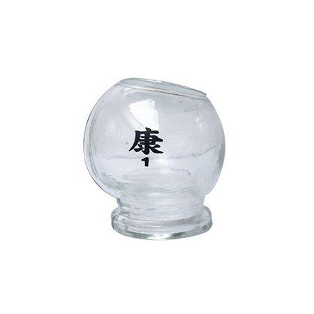 Copo Ventosa De Vidro N°1 Pp- Ventosaterapia Acupuntura