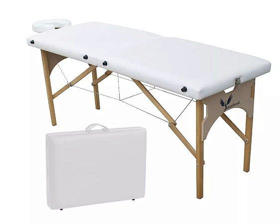 Maca De Massagem Portátil Altura Fixa - Maleta Ibiza