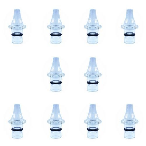 Ponteira p/ Caneta Extratora de Cravos Corpo de Vidro - Kit com 10 Peças