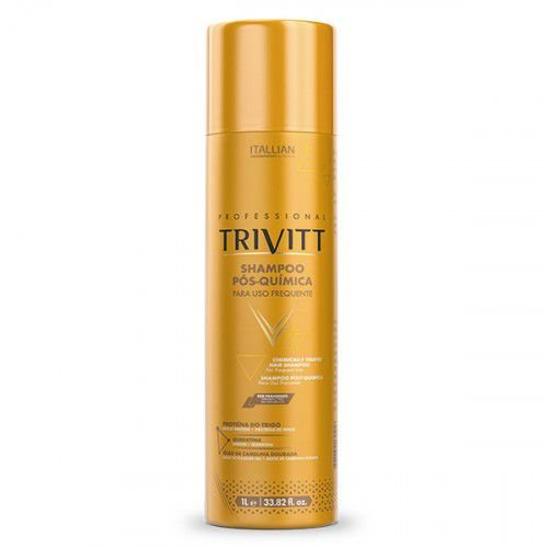 Shampoo Pós Quimica Uso Frequente 1Lt Trivitt