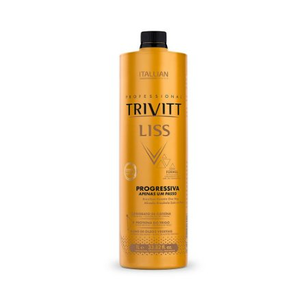 Escova Trivitt Liss Em Apenas Um Passo - Sem Formol 1L