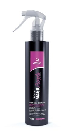 Avora Splendore Magic Purple Platinum Spray Gloss Hidratante