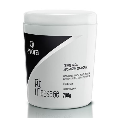 Avora Fit Massage 700g Creme para massagem sem perfume