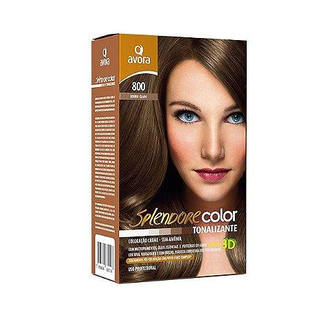 Avora Splendore Color creme tonalizante sem amonia 800 Louro Claro