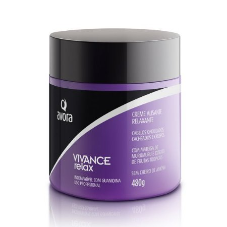 Avora Vivance Relax Tioglicolato de Monoetanolamina Creme Alisante/Relaxante 480g