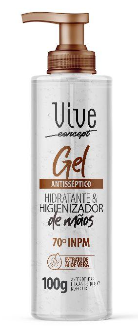 Avora Vive Concept Alcool em gel Antisséptico hidratante & higienizador de mãos 70º INPM 100G